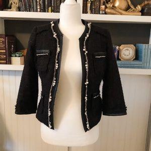 White House | Black Market Dressy Cropped Jacket